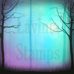 Turquoise Glow - Lavinia Stamps Scene-Scapes